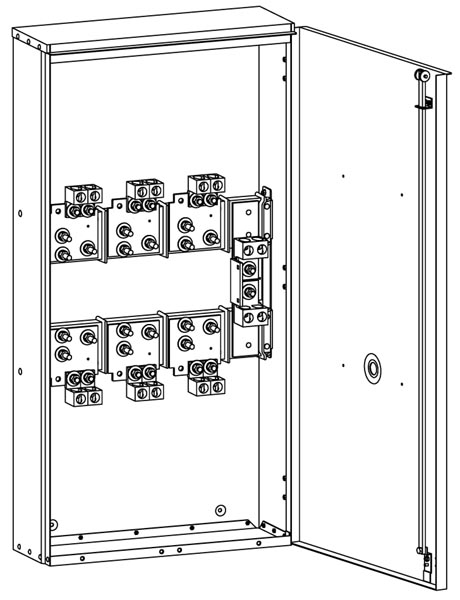 current transformer cabinet 400a Ct Cabinet Wiring Diagram requirements for electrical service